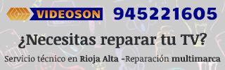 Publicidad Videoson Reparacion TV